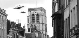 Soucoupes volantes sur Sainte-Catherine