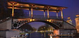 Le pont Napoléon, du travail d'orfèvre!