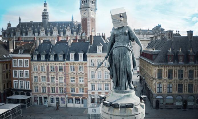 Quentin Carnaille, l\'homme à la tête de cube | La Gazette de Lille