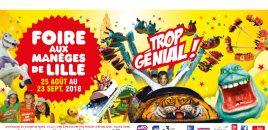 La Foire aux Manèges à Lille 25 août au 23 septembre 2018