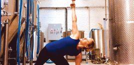 Essayez le Beer Yoga